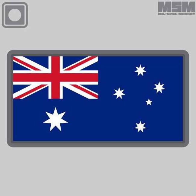 Mil-Spec Monkey Australian Flag PVC Patch AUSTRALIANFLAG