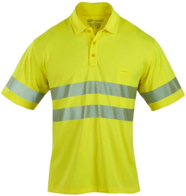 5.11 Tactical High Vis Ansi Class II S/S Polo 41007