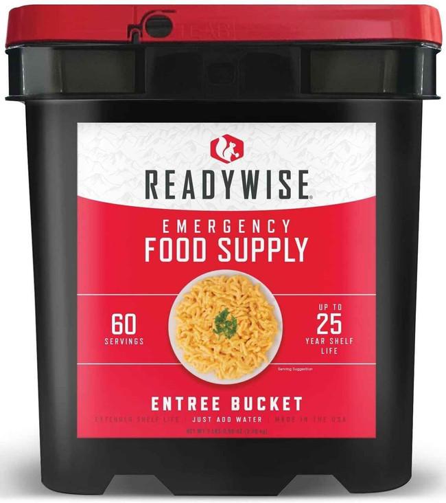 Ready Wise 60 Serving Entree Grab N Go Bucket RW01-160 049422015143