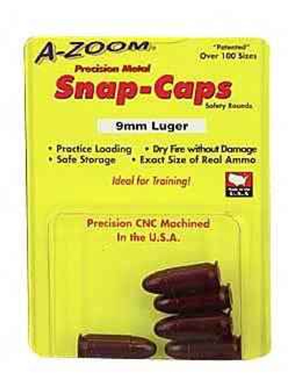 A-Zoom Snap Caps 9mm 5/Pack 15116 15116 666692151163