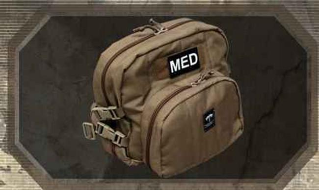 Tactical Medical Solutions Patrol Aid Bag PAB-STK
