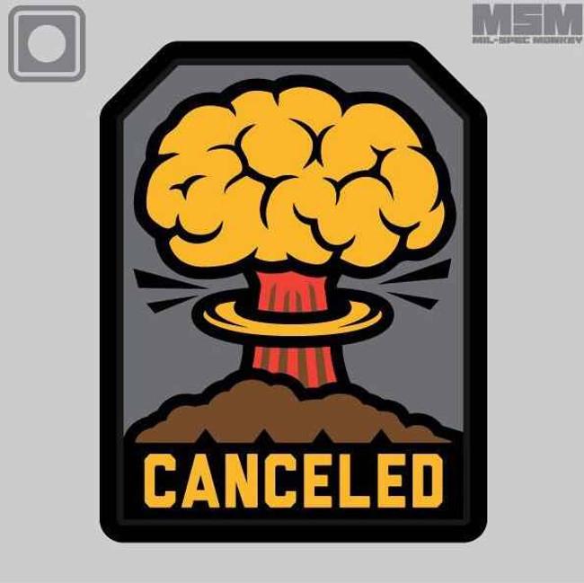 Mil-Spec Monkey Canceled PVC Patch CANCELEDPVC