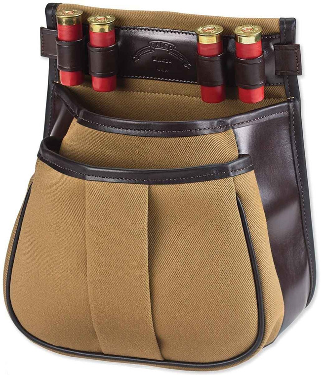 Galco Canvas and Leather Sporting Clays Shotgun Shell Pouch CT1043DH 601299115019