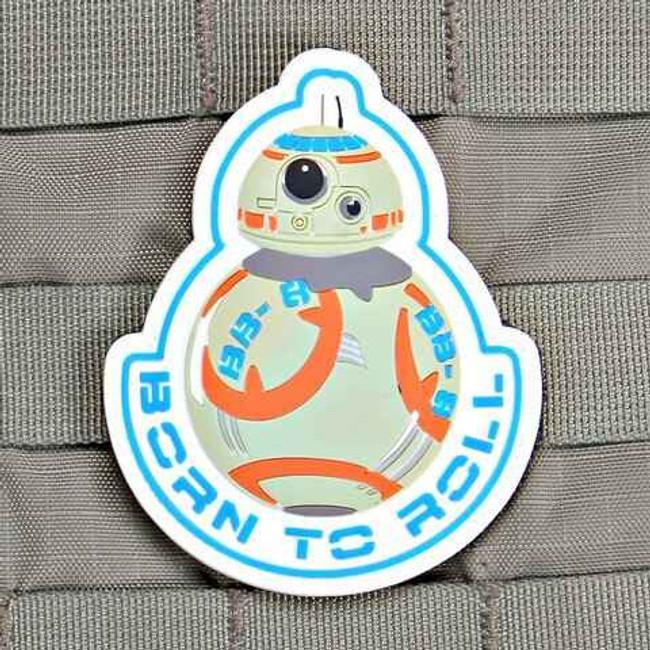 Tactical Outfitters BB-8 Star Wars Violent Little Machine Shop PVC Patch BB-8