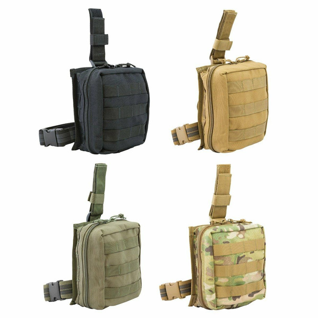 Tactical Medical Solutions Drop Leg Pouch - Advanced Kit DLA