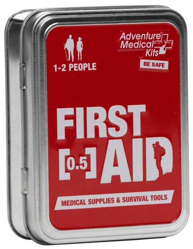 Adventure Medical Kits Adventure First Aid 0.5 oz Tin 0120-0203 707708102035