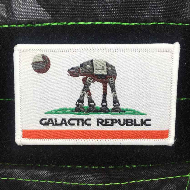 Tactical Outfitters California Galactic Republic Patch CA-GALATIC