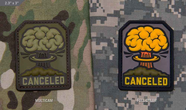 Tactical Outfitters Canceled MSM PVC Patch CANCELED