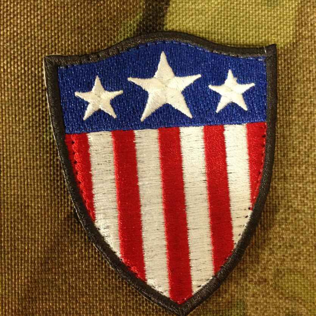 Tactical Outfitters CA Style Heater Shield Orca Industries Patch HEATER-SHIELD