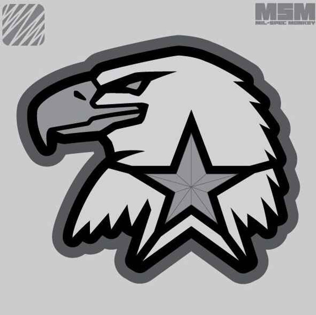 Mil-Spec Monkey Eagle Star Patch EAGLESTAR - LA Police Gear