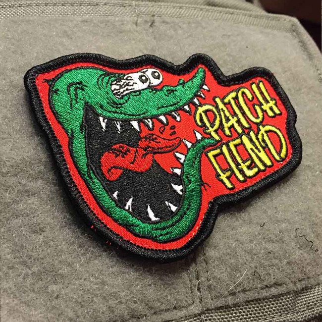 Tactical Outfitters Patch Fiend RF Morale Patch FIEND-RF