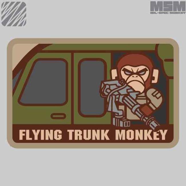 Mil-Spec Monkey Flying Trunk Monkey Patch FLYINGTRUNKMONKEY