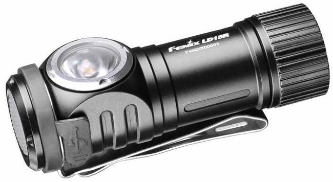 Fenix LD15R USB Rechargeable Angle Flashlight LD15RXPBK 6942870305851