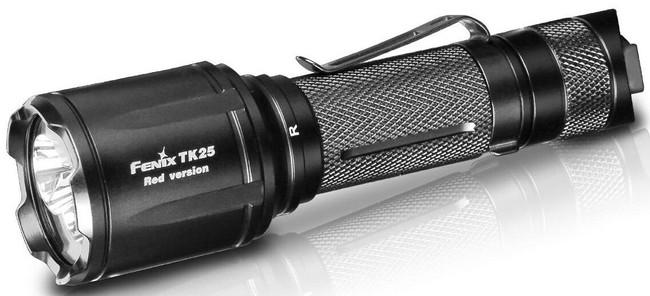 Fenix TK25 Red Flashlight TK25RDBK 6942870305639