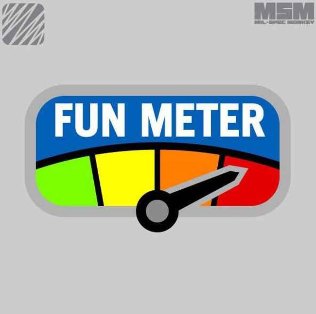 Mil-Spec Monkey Fun Meter Patch FUNMETER