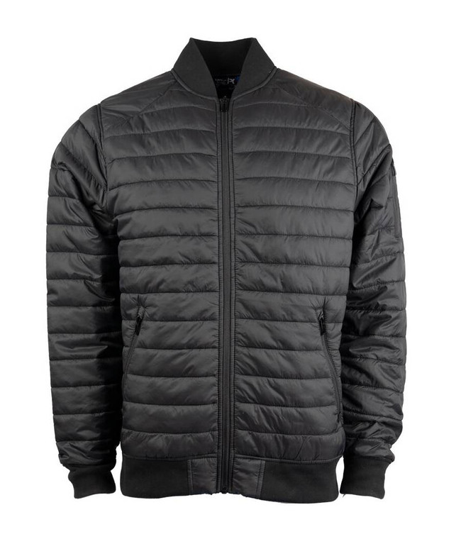 LA Police Gear Quilted Bomber Jacket QB01