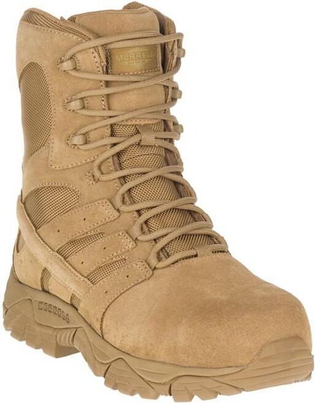 Side Zip Composite Toe Tactical Boot