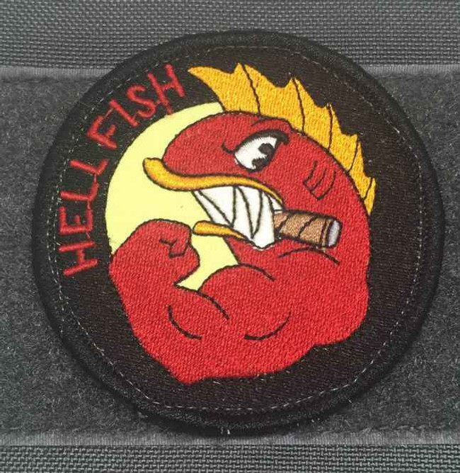 Tactical Outfitters The Flying Hellfish Patch HELLFISH