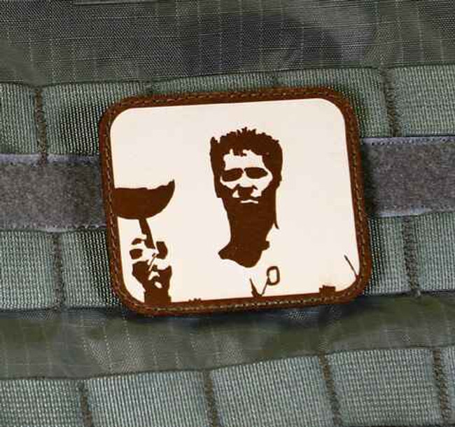 Tactical Outfitters Iceman Violent Little Machine Shop Leather Patch ICEMAN