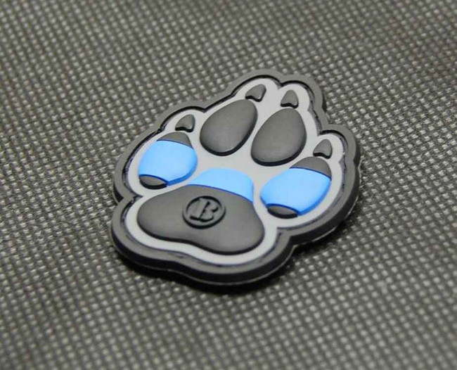 Tactical Outfitters K9 Thin Blue Line BritKitUSA PVC Patch K9-BLUE
