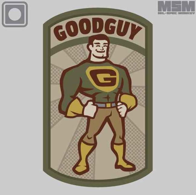 Mil-Spec Monkey Goodguy PVC Patch GOODGUYPVC