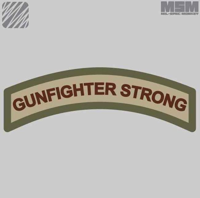 Mil-Spec Monkey Gunfighter Strong Patch GUNFIGHTERSTRONG