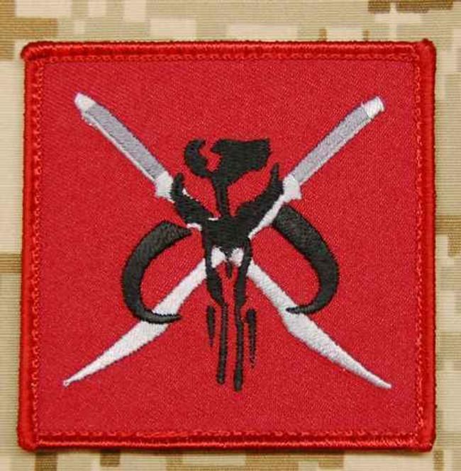 Tactical Outfitters Mandalorian Kadara Battlegroup BritKitUSA Morale Patch MANDALORIAN-KADARA
