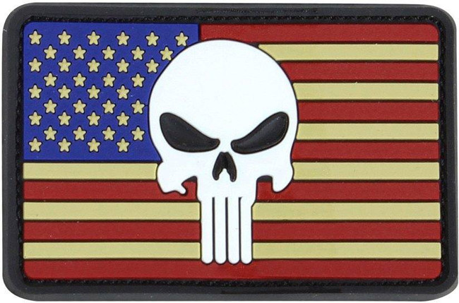 Condor Punisher US Flag PVC Patch 181013-004 022886269388
