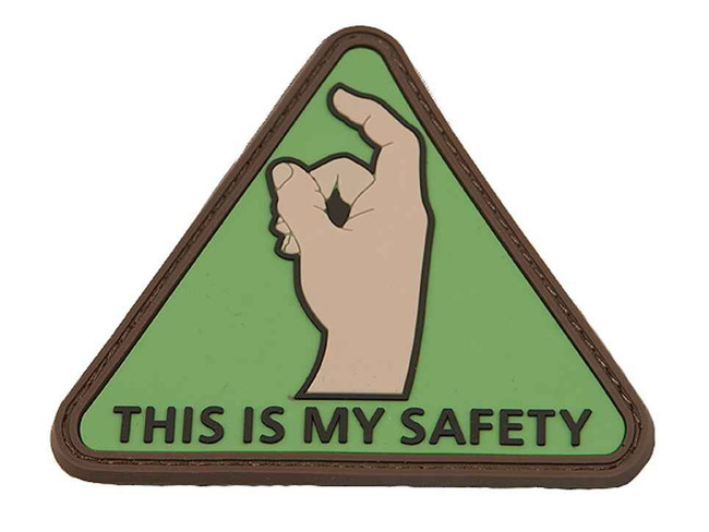 Tactical Outfitters This Is My Safety Fortis PVC Patch MY-SAFETY