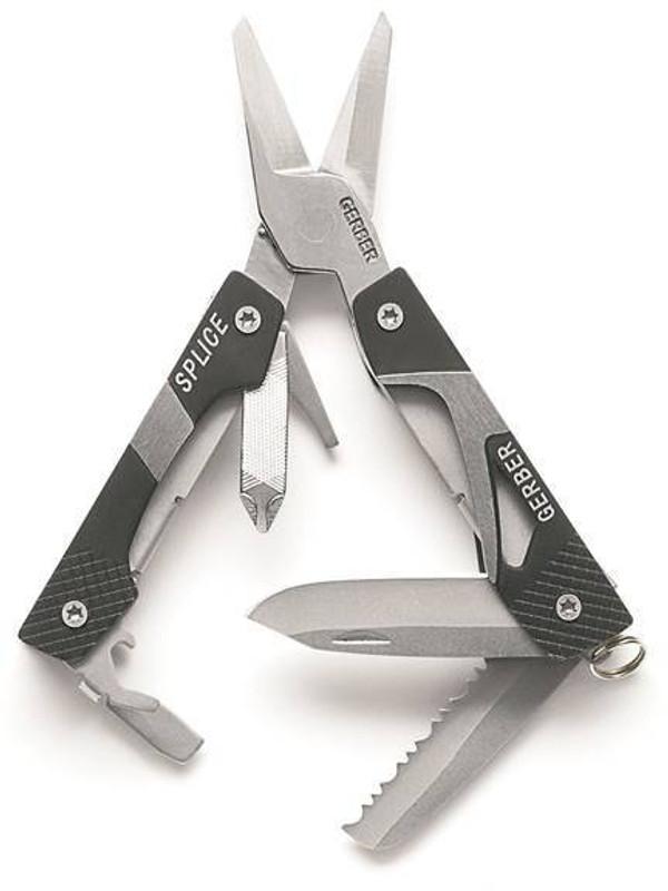 Gerber Splice Pocket Multitool Black 31-000013 13658111554