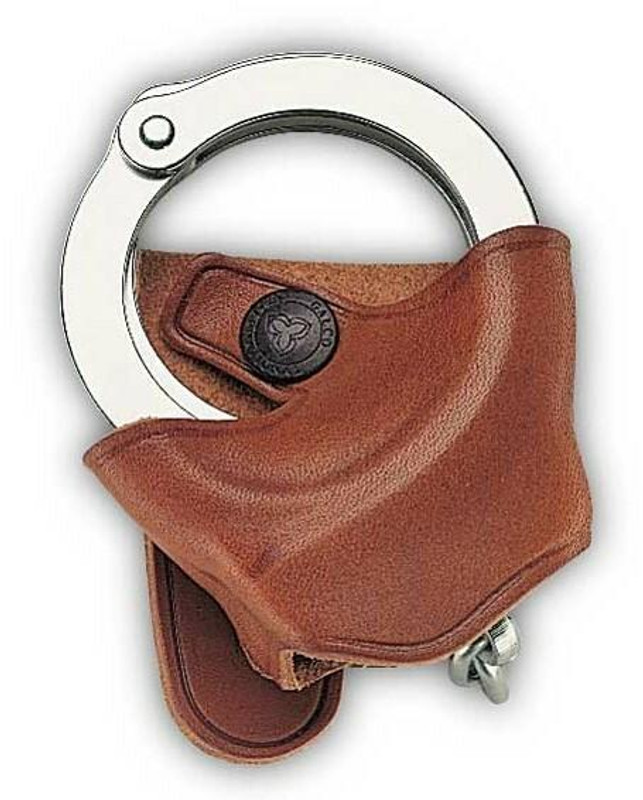 Galco SC9 Cuff Case tan worn