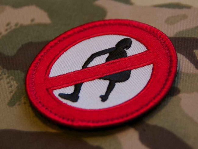 Tactical Outfitters No Twerking BritKitUSA Patch NO-TWERKING