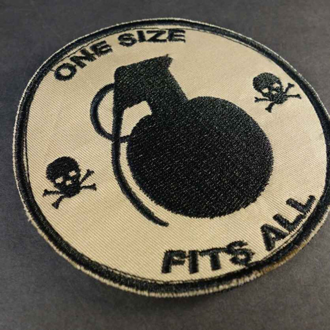 Tactical Outfitters One Size Fits All Grenade Patch ONE-SIZE-FITS