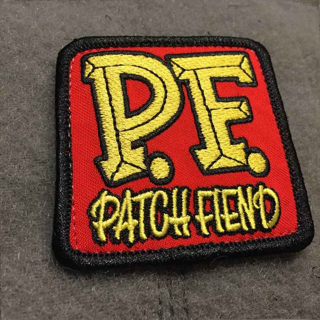 Tactical Outfitters Patch Fiend Morale Patch PATCH-FIEND
