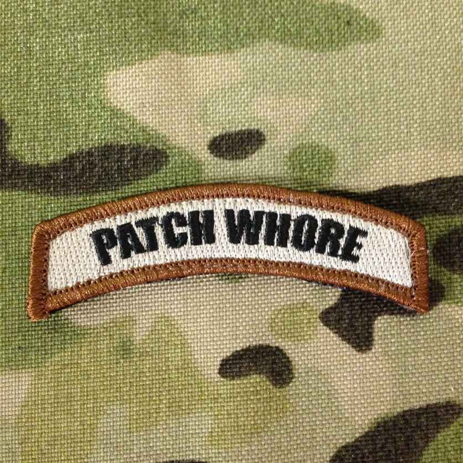 Tactical Outfitters Patch Whore Tab Patch PATCH-WHORE