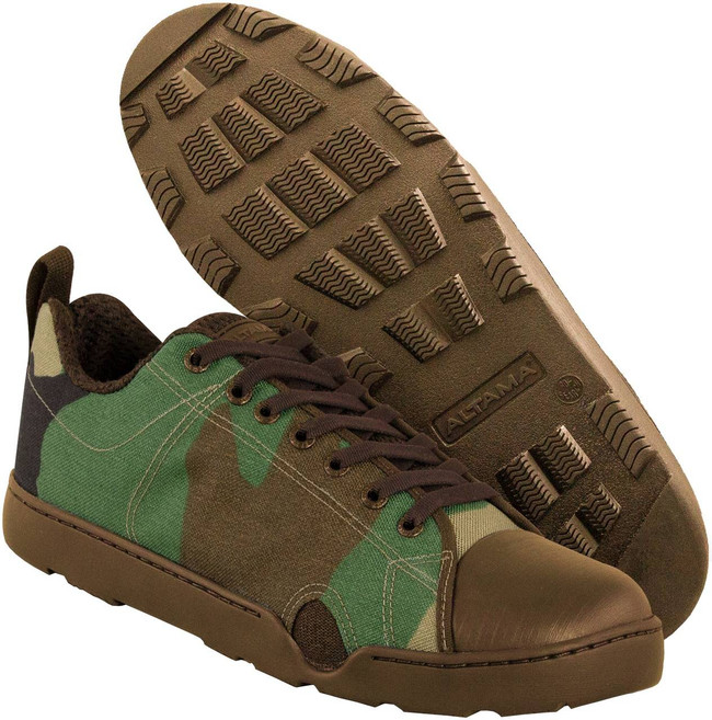 Altama Woodland Camo Maritime Assault Low Boot 339520