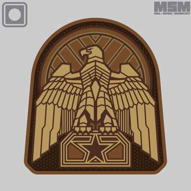 Mil-Spec Monkey Industrial Eagle Patch INDUSTRIALEAGLE