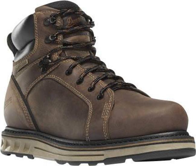 Danner Mens Steel Yard 6 Brown Hot ST Wedge Boot 12537 12537