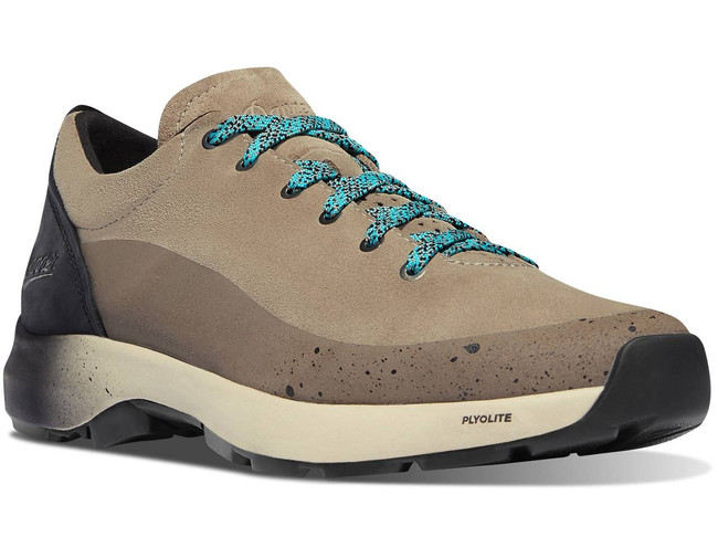 Danner Mens Caprine Low Suede Plaza Taupe Boot 31328 31328