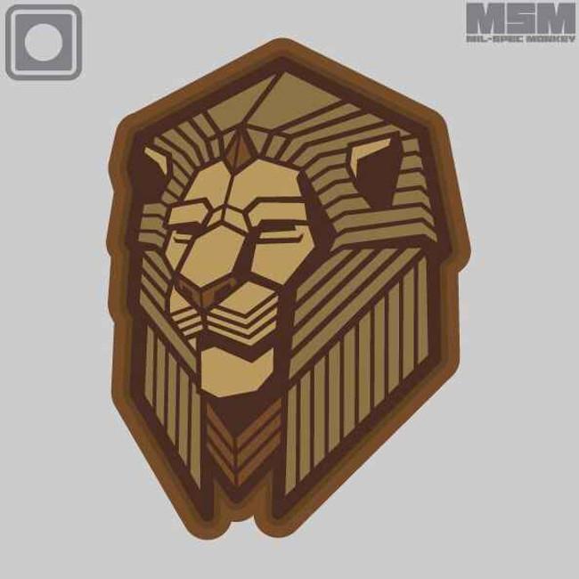 Mil-Spec Monkey Industrial Lion Patch INDUSTRIALLION