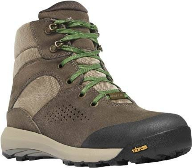 Danner Womens Inquire Mid 5 Brown/Cactus Boot 64532 64532