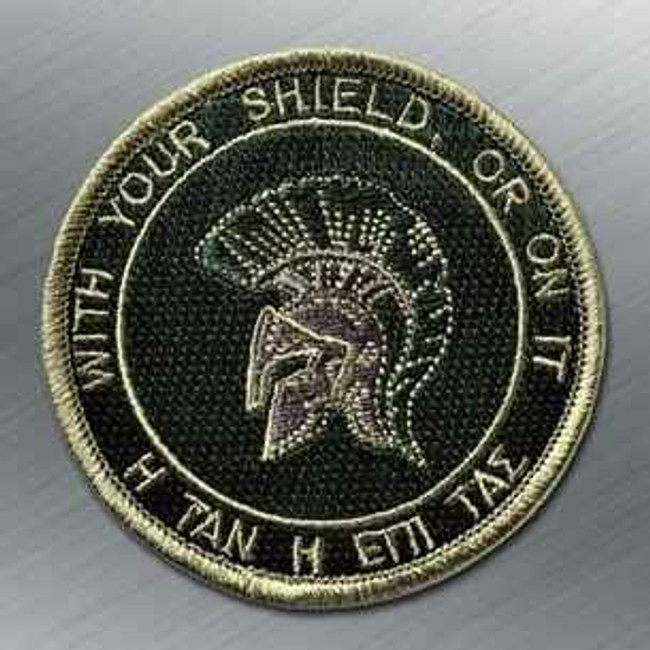 Tactical Outfitters Spartan Shield Bastion Patch SPARTAN-SHIELD-TA