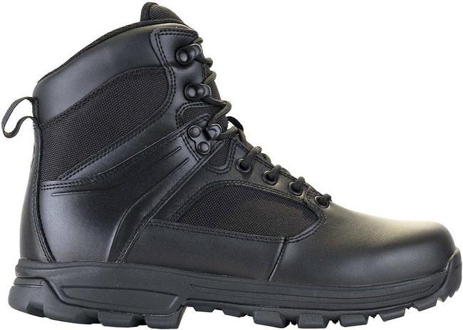 LA Police Gear Sector Black 6 Side-Zip Duty Boot D6201SZBK