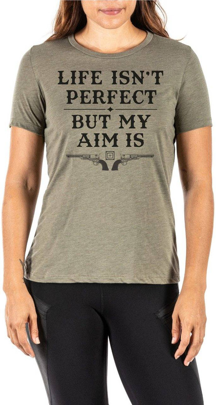 5.11 Tactical Womens Life Isnt Perfect T-Shirt 31022RPW 31022RPW