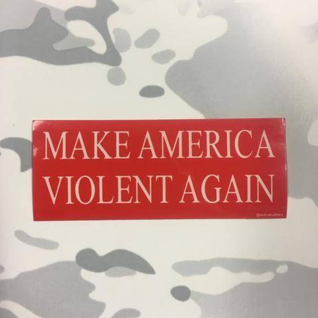 Tactical Outfitters Make America Violent Again Sticker MAVA-STICKER