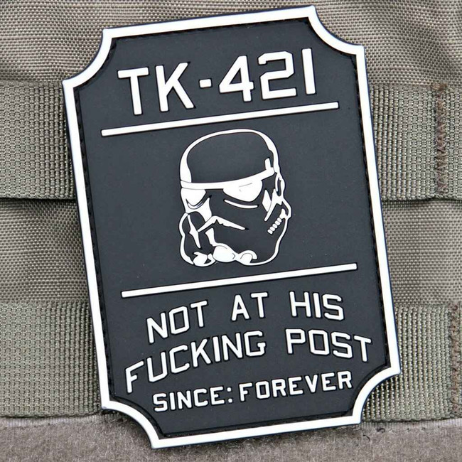 Tactical Outfitters TK-421 Violent Little Machine Shop PVC Patch TK421