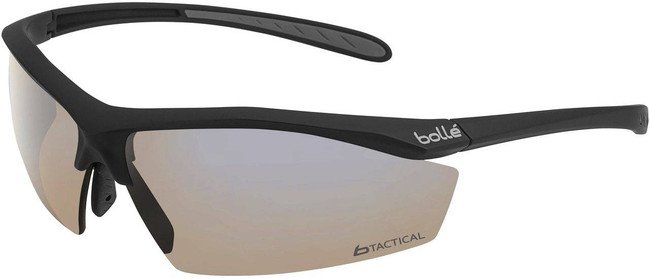 Bolle Sentinel Tactical Glasses with Brown Platinum OC Grip Half Frame 40289R