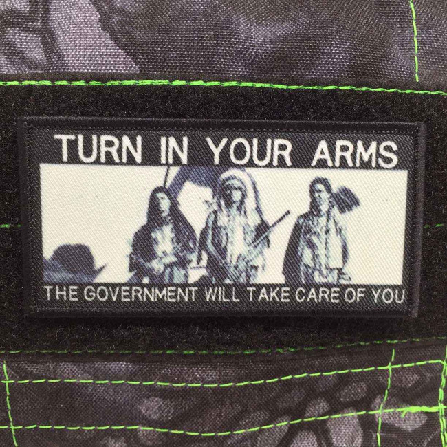 Tactical Outfitters Turn in Your Arms Patch TURN-ARMS