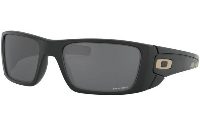 Oakley SI Fuel Cell American Traditional Sunglasses wiith Prizm Black Polarized Lenses OO9096-K460 888392438072