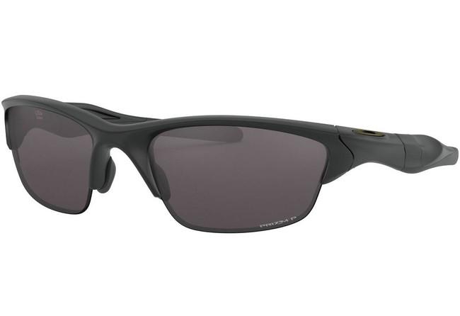 Oakley SI Half Jacket 2.0 Matte Black Sunglasses with Prizm Grey Polarized Lenses OO9144-2362 888392455826